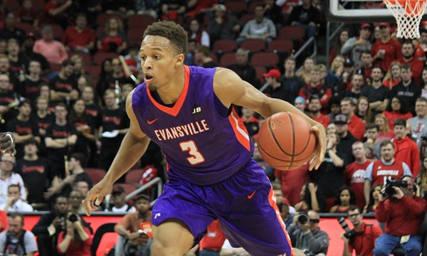 Brown is one of the most lethal scorers in the country and gives Evansville a puncher's chance to go deep in St. Louis/Photo: Evansville athletics website
