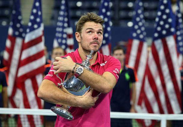 Wawrinka won his third Grand Slam title at the US Open last year (Getty/Jean Catuffe)