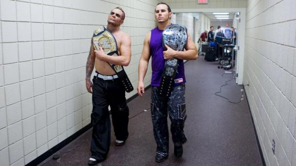 The duo have experience tag-team success and singles success in WWE over their careers (image: wwe)