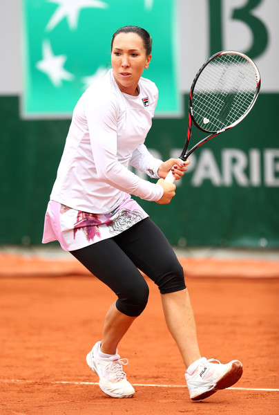 Jelena Jankovic in action at the French Open last year | Photo: Julian Finney/Getty Images Europe