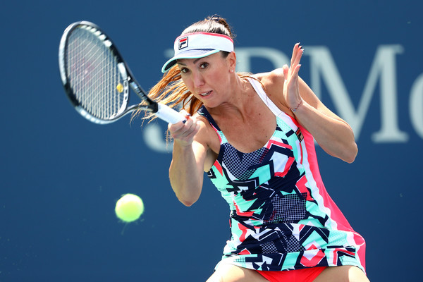 Jelena Jankovic in action during her last match of the year at the US Open | Photo: Al Bello/Getty Images North America