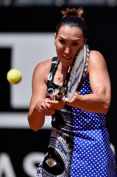 Jelena Jankovic in action at the Italian Open last year | Photo: Dennis Grombkowski/Getty Images Europe