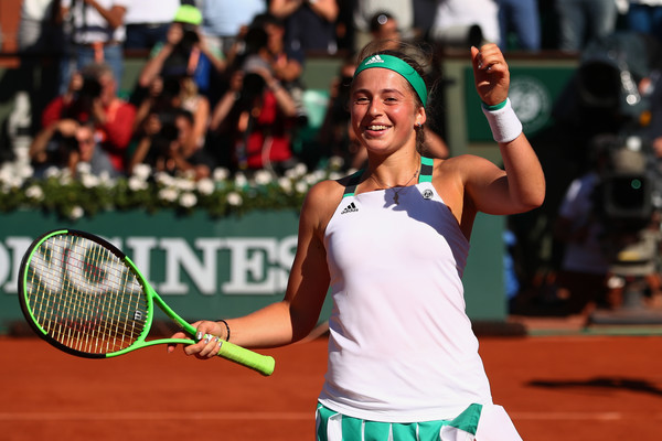 Jelena Ostapenko looks to win her first ever title on Saturday | Photo: Clive Brunskill/Getty Images Europe