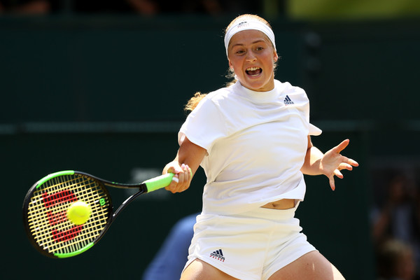 Jelena Ostapenko reached the semifinals of the Wimbledon Championships this year | Photo: Michael Steele/Getty Images Europe