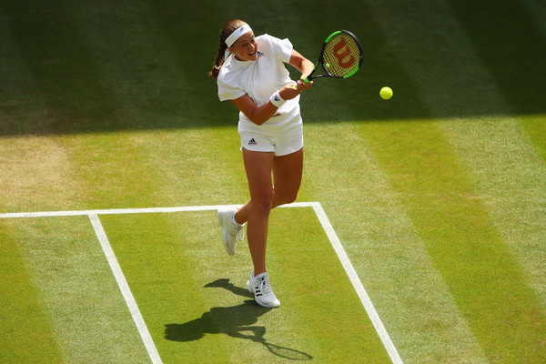 Jelena Ostapenko comes into the encounter as the slight favourite | Photo: Clive Brunskill/Getty Images Europe