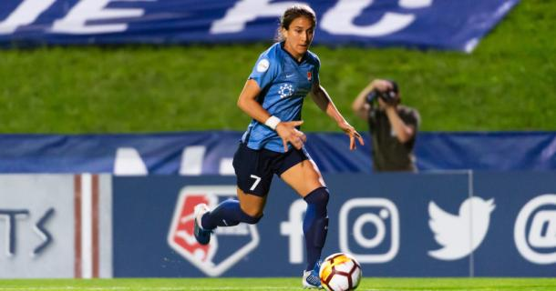Jen Hoy will need to step up in Lloyd's absence | Source: skybluefc.om