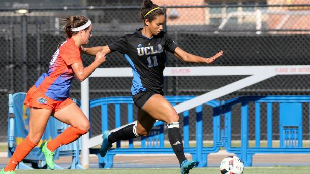 Jenkins during her collegiate career with UCLA | Source: uclabruins.com