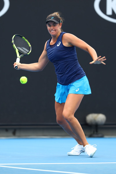 Brady defeated Vesnina in the third round today | Photo: Ryan Pierse/Getty Images AsiaPac