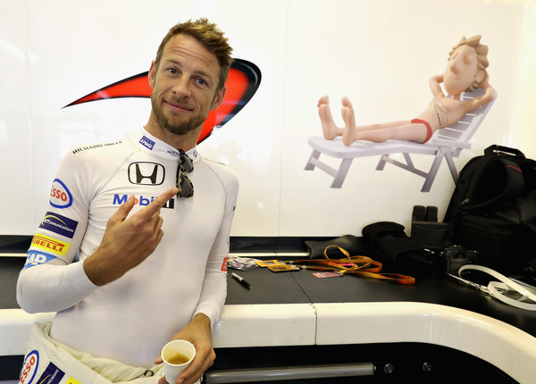 Jenson Button sustituirá a Fernando Alonso en Mónaco | Fuente: Zimbio