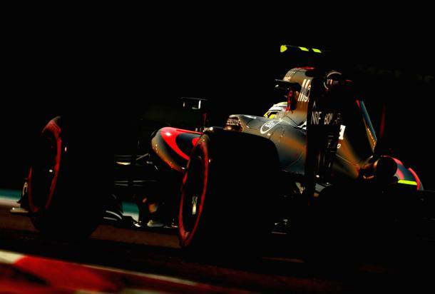 Jenson Button durante el GP de Abu Dhabi | Fuente: Getty Images