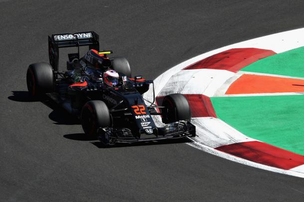Jenson Button durante el GP de México | Fuente: Getty Images