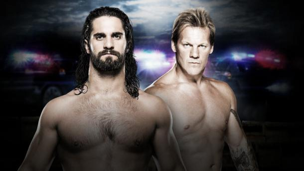 Two bitter rivals clash. Photo- WWE.com