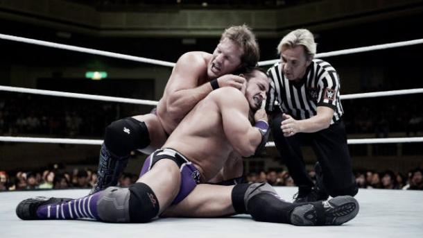Neville - Jericho on Monday night raw (image: triplethreatpodcast.blogspot.com)
