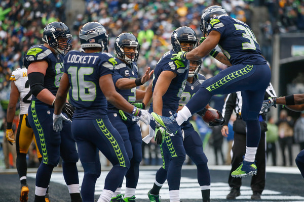 All of Seattle's offensive skill boys are back in town (Photo: Otto Greule Jr/Getty Images).