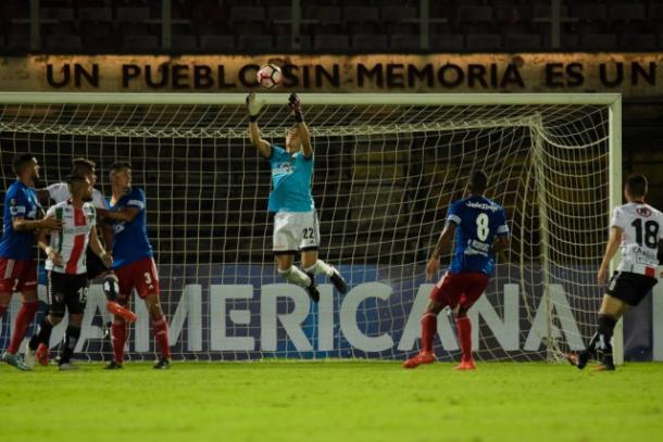 Jesús Briceño se lució en la ida | Foto Atlético Venezuela