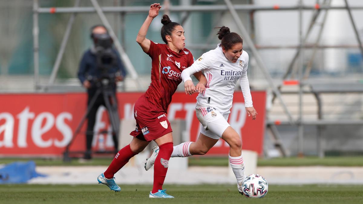 Jessica Martínez desplegó un esfuerzo físico notable | Foto: Real Madrid