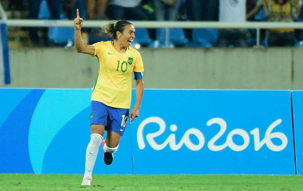 Can Marta continue to lead the Brazilian show? (Photo: Getty Images/Harry How)