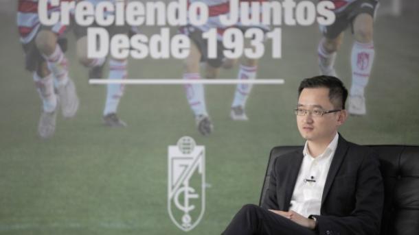 Jiang Lizhang é o novo dono do Granada para a temporada 16-17 (Foto: Divulgação/Granada CF)