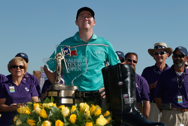 Jimmy Walker at the 2015 Valero Texas Open. Photo: Christian Petersen/Getty Images
