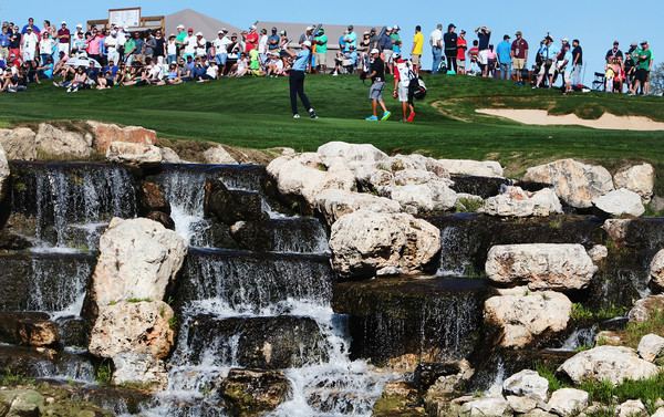 Final round action of the 2015 Valero Texas Open. Photo: Christian Petersen/Getty Images