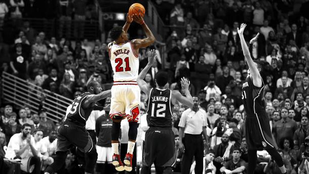 Jimmy Butler, el llamado a ser el líder de los Bulls. / Foto: NBA.