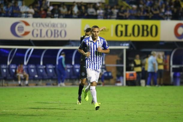 João Paulo é o jogador do Avaí que mais chuta no Brasileiro, mas ainda não balançou as redes (Foto: Frederico Tadeu/Avaí FC)