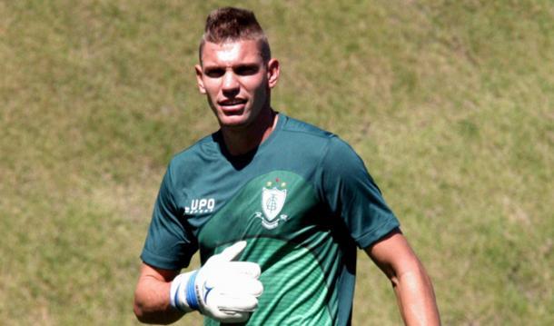 João Ricardo, goleiro do América (Foto: Divulgação/América-MG)