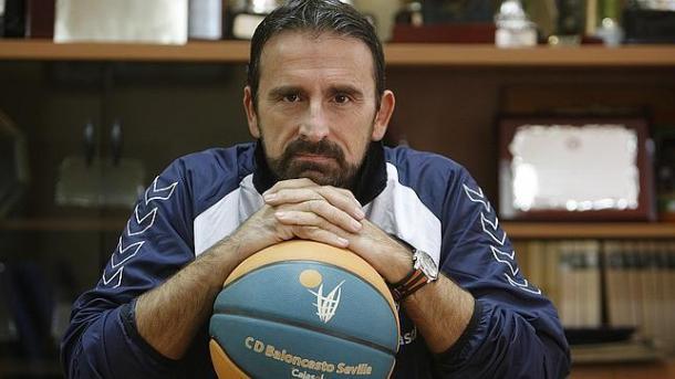Joan Plaza también hizo historia en el Baloncesto Sevilla.   Foto: Raúl Doblado