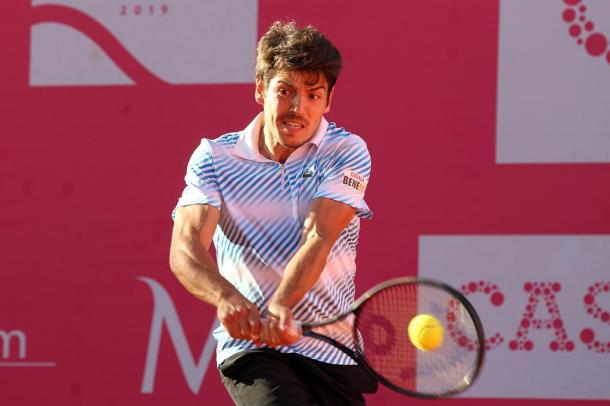 João Domingues on his route to his best career win. (Photo by Millennium Estoril Open)