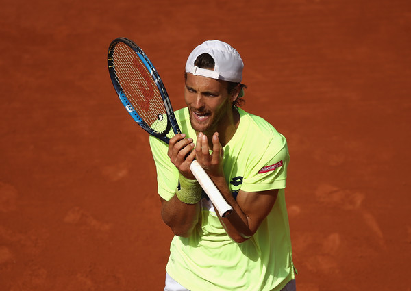 Joao Sousa failed to take his chances today | Photo: Julian Finney/Getty Images Europe