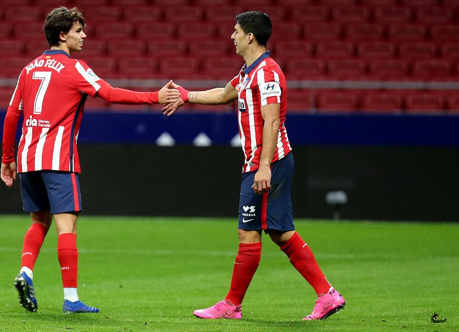 La dupla atlética. | Fuente: Atlético de Madrid
