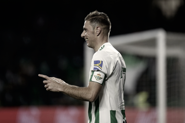 Joaquín marcó el 2-0 tras una gran cabalgada | Foto: Real Betis
