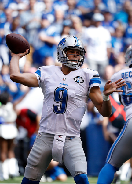 Matthew Stafford had a great game vs. the Indianapolis Colts in week one in the 2016-17 NFL Season. Photo Credit: Joe Robbins of Getty Images