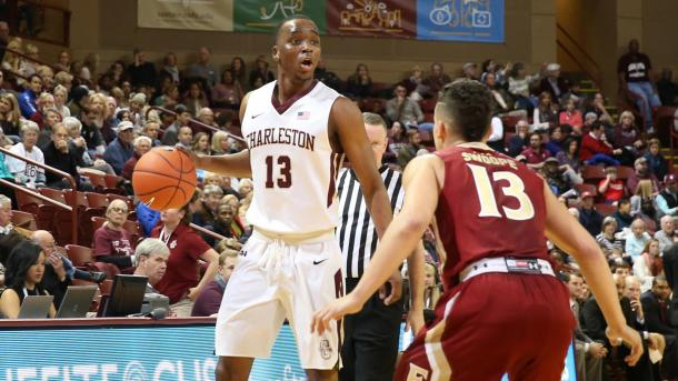 Chealey hopes to lead Charleston to the NCAA's for the first time since 1999/Photo: College of Charleston athletics website