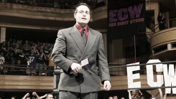Joey Styles is firmly against the use of the suicide dive (image: wwe.com)