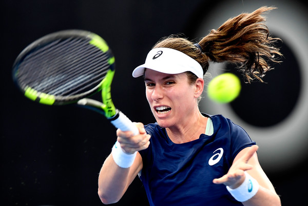 It was an impressive start to 2018 for Konta | Photo: Bradley Kanaris/Getty Images AsiaPac