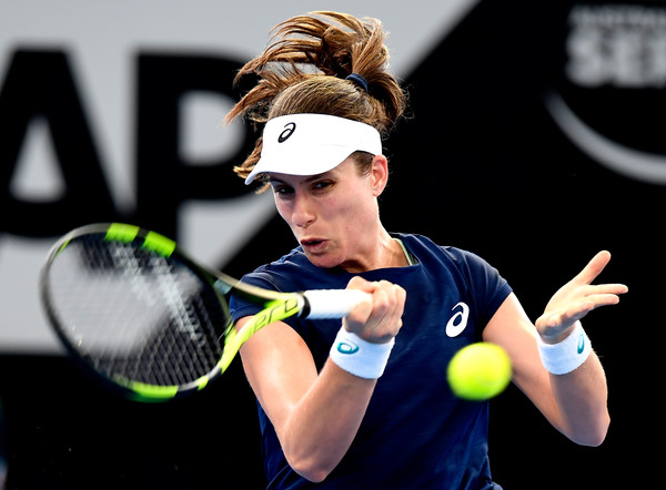 Johanna Konta will next face Ajla Tomljanovic in the second round | Photo: Bradley Kanaris/Getty Images AsiaPac