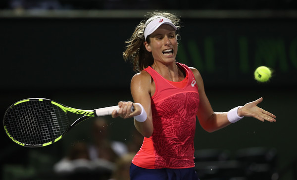 Johanna Konta's game has drastically improved over the past few years | Photo: Julian Finney/Getty Images North America)