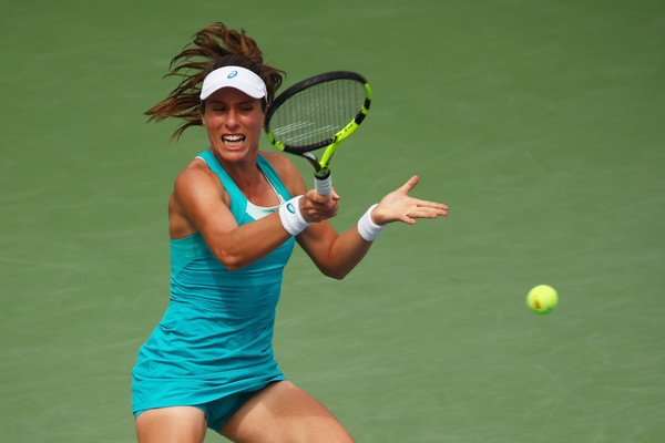 Johanna Konta in action at the US Open | Photo: Clive Brunskill/Getty Images North America