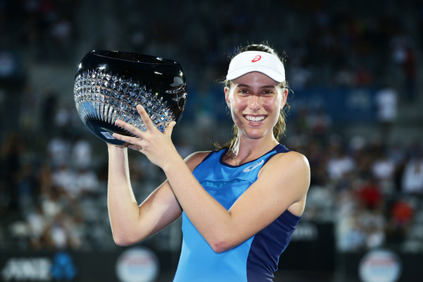 Johanna Konta won the title in Sydney | Photo: Matt King/Getty Images AsiaPac