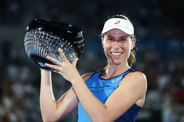 Johanna Konta is the defending champion here in Sydney | Photo: Matt King/Getty Images AsiaPac