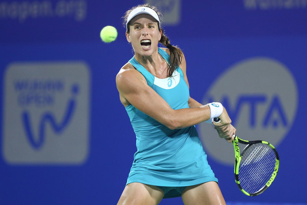 Johanna Konta was so close, yet so far, from qualifying for the WTA Finals | Photo: Yifan Ding/Getty Images AsiaPac