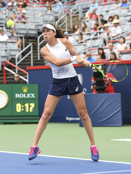 Johanna Konta was firing on all cylinders in the match | Photo: Minas Panagiotakis/Getty Images North America