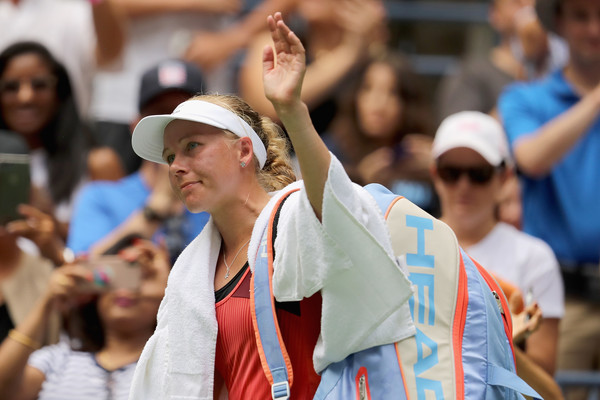 It was a terrific display by Johanna Larsson | Photo: Elsa/Getty Images North America
