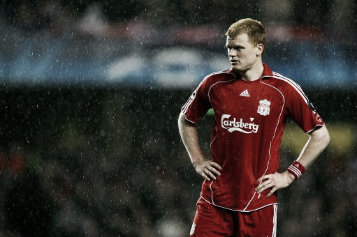 Riise made the left-back position his own at Liverpool (image: liverpoolfcupdatebybasi.blogspot.com)