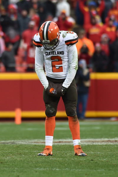 Cleveland has replaced a risk with another risk, getting rid of Johnny Manziel and now bringing in RG3 (Photo: Patrick Smith/Getty Images).