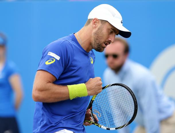 Johnson reached a career high of number 29 in the Emirates ATP Rankings back in February. Photo: Getty