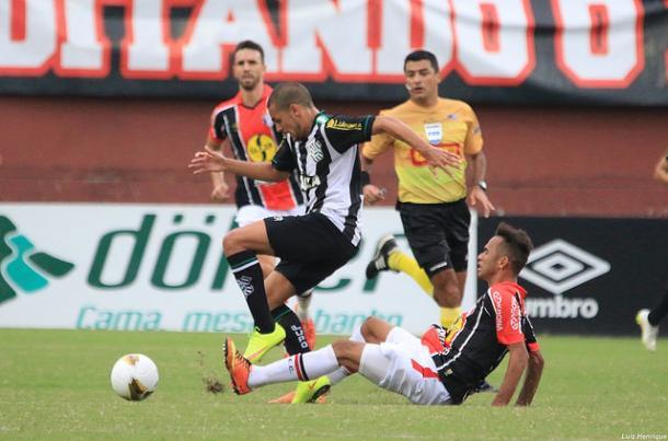 Figueirense e JEC decidiram os dois últimos catarinenses, e o Figueira venceu ambos: na última, polêmica (Foto: Divulgação/Figueirense)