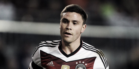 Could Jonas Hector be on his way to Merseyside? (image: inaddedtime.com)