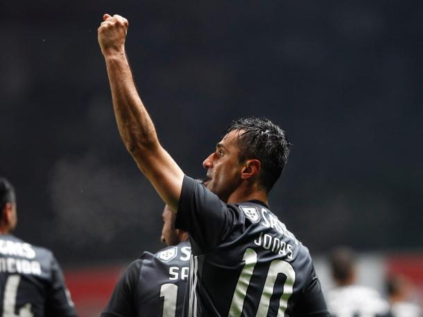 Jonas celebra su gol | Foto: SL Benfica